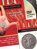 Tango Ultimate Coin - Walking Liberty Half Dollar - Silver Gimmicked coin