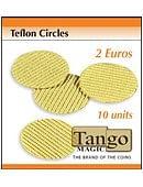 Teflon Circle 2 Euro size Trick