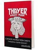 Thayer Quality Magic Volume 1 Book