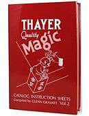 Thayer Quality Magic Volume 2 Book