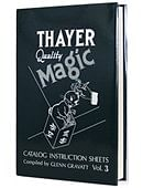 Thayer Quality Magic Volume 3 Book