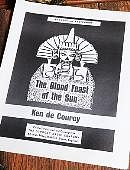 The Blood Feast of the Sun Book