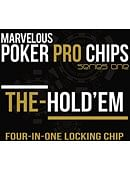 The Hold'Em Chip (4-in-1 Magnetic Locking Poker Chip) Gimmicked coin