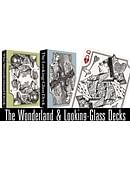 The Wonderland and Looking-Glass Playing Card Set Deck of cards