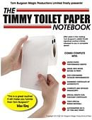 Timmy Toilet Paper Notebook DVD