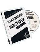 Torn And Restored Newspaper DVD