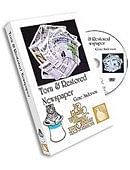 Torn & Restored Newspaper DVD DVD