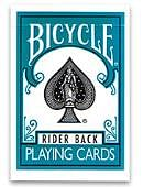 Bicycle Turquoise Playing Cards Deck of cards