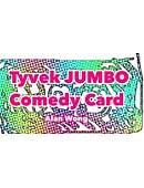 Jumbo Tyvek Comedy Card Trick