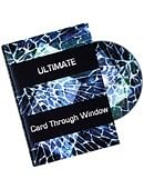Ultimate Card Through Window DVD - Eric James DVD