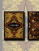 Unicorn Playing Cards (Copper Edition) Deck of cards