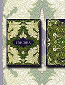 Unicorn Playing Cards (Emerald Edition) Deck of cards