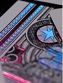 Ultraviolet Vegas Diffractor Playing Cards Deck of cards