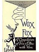 Wax Fax book Book