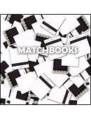 White Matchbooks Accessory