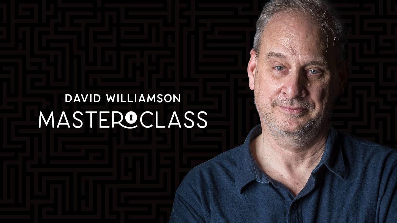 David Williamson live lecture