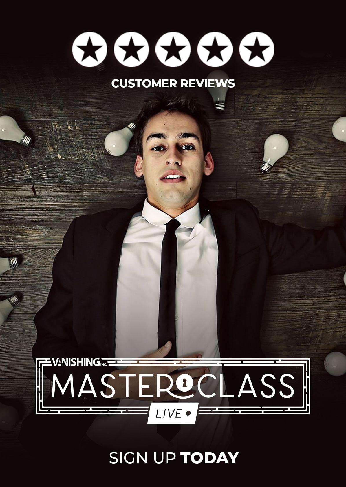 Masterclass: Live